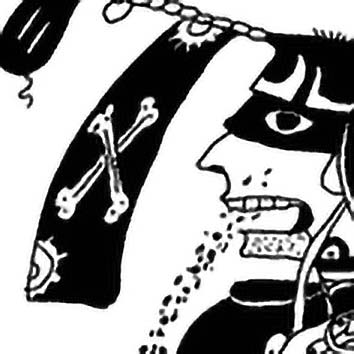 Picture of the Maya Alcohol God Acan from our Maya mythology image library. Illustration by Chas Saunders.