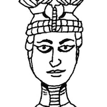 Picture of the Egyptian War God Anhur from our Egyptian mythology image library. Illustration by Chas Saunders.