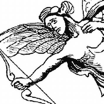 Picture of the Greek Love God Anteros from our Greek mythology image library. Illustration by Chas Saunders.