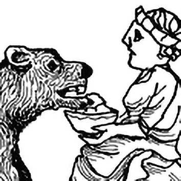 Picture of the Gaulish Fertility Goddess Artio from our Gaulish mythology image library. Illustration by Chas Saunders.