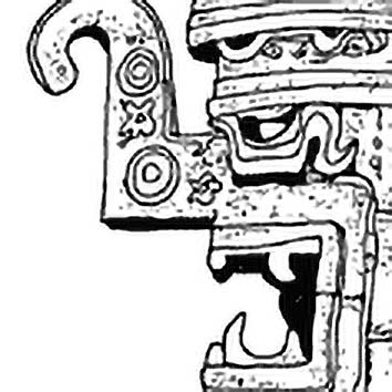 Picture of the Maya Rain God Chac from our Maya mythology image library. Illustration by Chas Saunders.