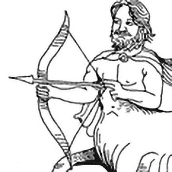 Picture of the Greek Healer God Chiron from our Greek mythology image library. Illustration by Chas Saunders.
