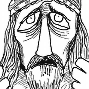 Picture of the Gaulish War God Esus from our Gaulish mythology image library. Illustration by Chas Saunders.