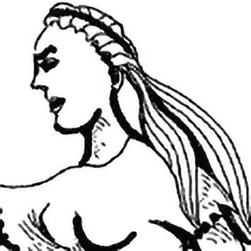 Picture of the Greek legendary mortal Europa from our Greek mythology image library. Illustration by Chas Saunders.
