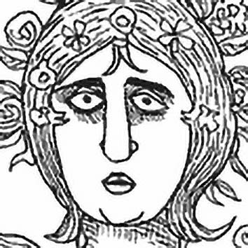 Picture of the Roman Flower Goddess Flora from our Roman mythology image library. Illustration by Chas Saunders.