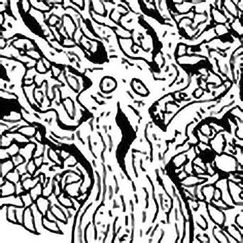 Picture of the African Tree Spirit Huntin from our African mythology image library. Illustration by Chas Saunders.