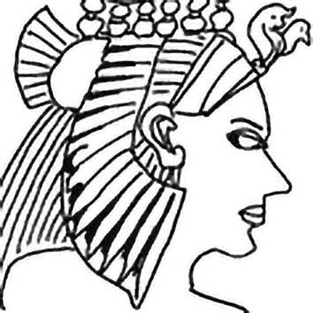 Picture of the Egyptian Mother Goddess Isis from our Egyptian mythology image library. Illustration by Chas Saunders.