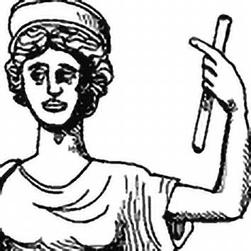 Picture of the Roman Marriage Goddess Juno from our Roman mythology image library. Illustration by Chas Saunders.