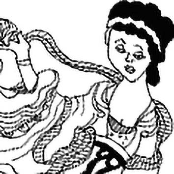 Picture of the Chinese Craft Goddess Leizu from our Chinese mythology image library. Illustration by Chas Saunders.