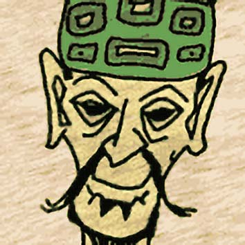 Picture of the Chinese Education God Lu Dongbin from our Chinese mythology image library. Illustration by Chas Saunders.