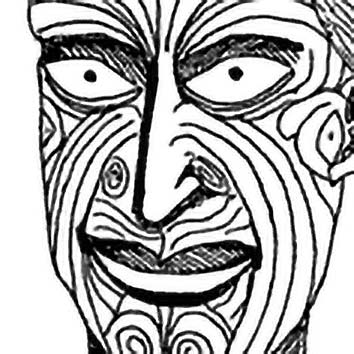 Picture of the Maori Trickster God Maui from our Maori mythology image library. Illustration by Chas Saunders.