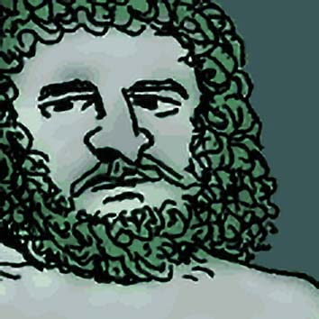 Picture of the Roman Sea God Neptune from our Roman mythology image library. Illustration by Chas Saunders.