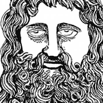 Picture of the Greek Healer God Serapis from our Greek mythology image library. Illustration by Chas Saunders.