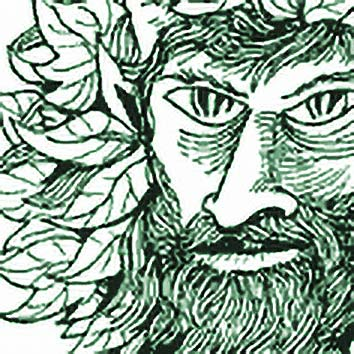 Picture of the Roman Nature God Silvanus from our Roman mythology image library. Illustration by Chas Saunders.
