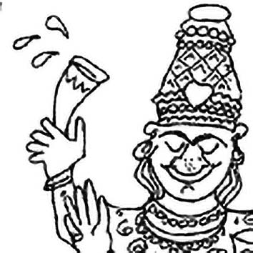 Picture of the Hindu Alcohol God Soma from our Hindu mythology image library. Illustration by Chas Saunders.