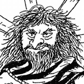 Picture of the Gaulish Storm God Taranis from our Gaulish mythology image library. Illustration by Chas Saunders.