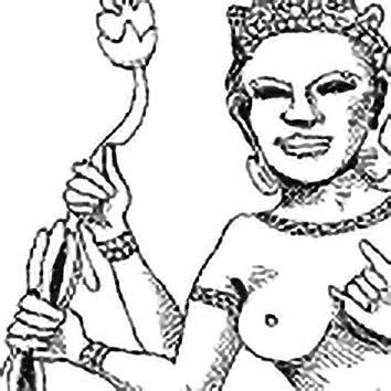 Picture of the Hindu Light Goddess Uma from our Hindu mythology image library. Illustration by Chas Saunders.