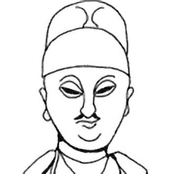 Picture of the Chinese Literature God Wen Chang from our Chinese mythology image library. Illustration by Chas Saunders.